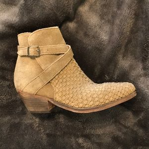 Khaki Green Free People Boots